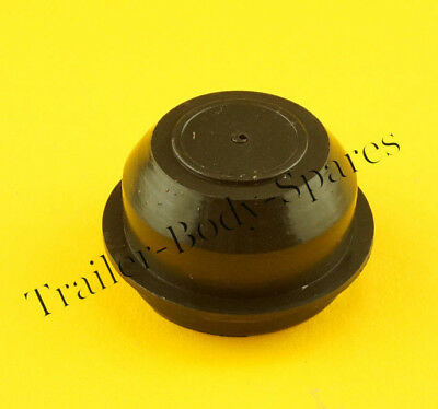 FREE UK Post - 1 x 50mm Plastic Grease Hub Dust Wheel Cap for Trailers
