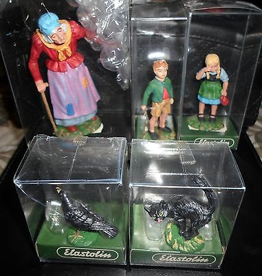 Preiser, Elastolin, Hansel & Gretel set, 1:16 scale, great detail