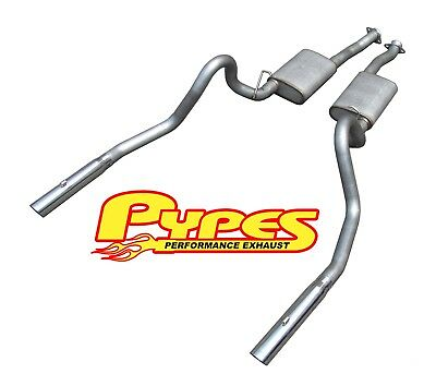 Pypes Performance Exhaust SFM27V Cat Back Exhaust System Fits 99-04 Mustang