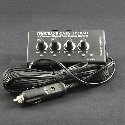 Thousand Oaks Four Channel Digital Dew Heater Control Unit # DDHC