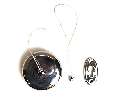 Chrome Retractable Clothes Line Vintage Style For Towels Toilet Paper Stainless