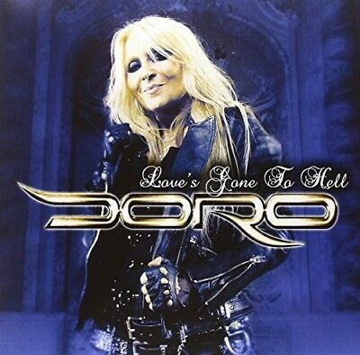 Doro - Love's Gone To Hell - Blue [New Vinyl LP] Germany - Import