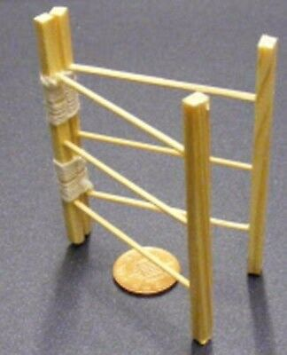 1:12 Scale Folding Wooden Clothes Horse Hanger Dolls House Drying Washing Towel