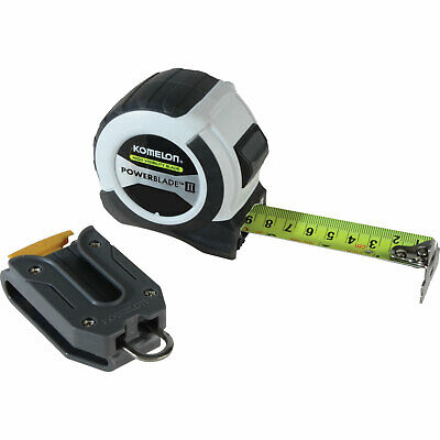 Komelon Powerblade II Tape Measure Imperial & Metric 26ft / 8m 27mm