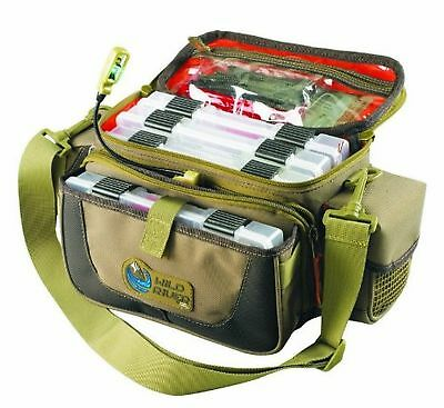 Wild River by CLC WT3505 Tackle Tek Mission Lighted Convertible Tackle Bag wi...