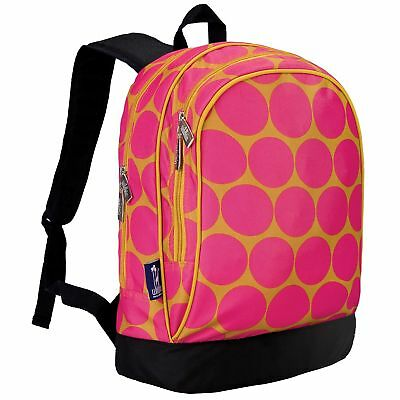 Wildkin Big Dots Hot Pink Sidekick Backpack Big Dot Hot Pink