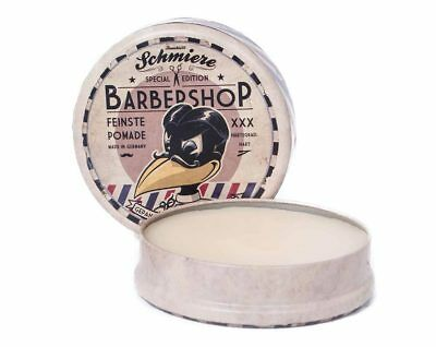 Schmiere Haarpomade - Special Edition Barbershop hart by Rumble59  (9,99€/100ml)