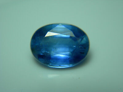 rare 3.76ct BLUE KYANITE gem NATURAL Nepal Gemstone Oval Fine Color untreated