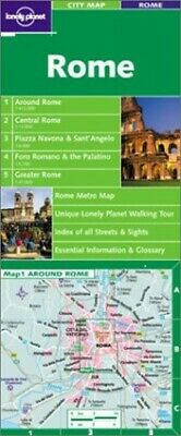 Rome (Lonely Planet City Map) Other printed item Book The Cheap Fast Free Post