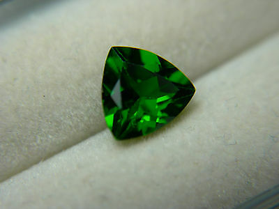 rare untreated top GREEN Chrome Diopside Russia gem Russian gemstone trill D64