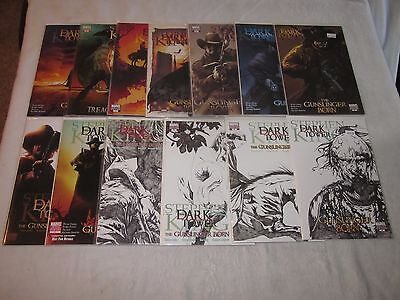 The Dark Tower 1-6 Variant Lot!!! Book Market Variant 1 Sketch Covers 3 4 5 6 Mo