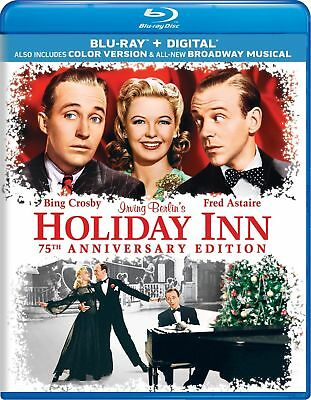 Holiday Inn 75th Anniversary Edition Bing Crosby, Fred Astaire (Blu-ray)