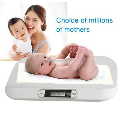 Bn Digital Electronic Weighing Scale Baby Infant Pet Bathroom 20Kgs/44Lbs - 5G