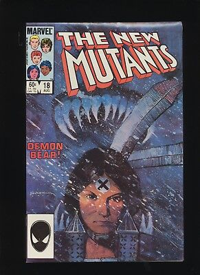 New Mutants #18! 1St New Warlock! Marvel Comics! See Scans! Wow! Great Book!