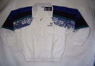 New!! Mens Sergio Tacchini Saigon Tracksuit (Jacket & Pants) Size Eur 48 (Small)