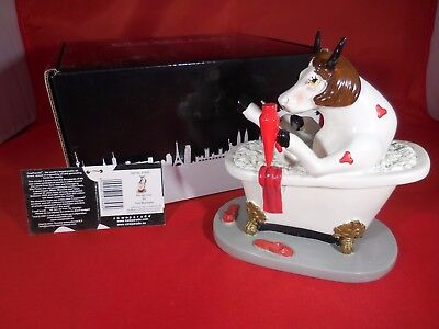 "BRAND NEW Cow Parade ""Pin-Up Cow"" 2011 #47848 - Box & Hang Tag"