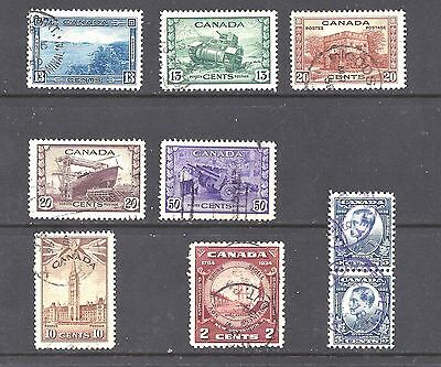 Canada SELECTION OF OLDER USED STAMPS (BS10119-1)
