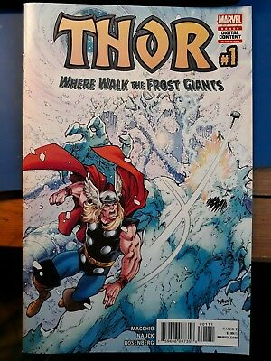 Thor - Where Walk The Frost Giants #1 Comic - Marvel