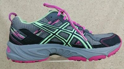 Asics T5N8N Gel-Venture 5 Running Shoes Multi-Color Women's Size 7.5