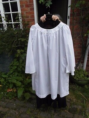 """Cassock and surplice for 5'10"""" man, J. Wippell and Co"""