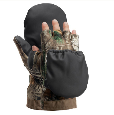 100c5105d6b4c Cabela's Men's MT050 Extreme II Glomitts Thinsulate Insulation realtree xtra