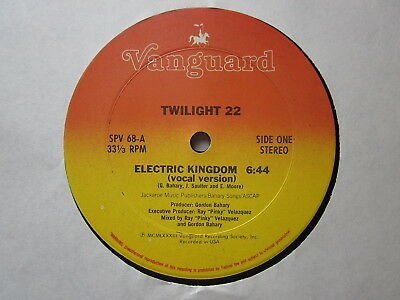 "Electro Old School Hip-Hop 80's 12""-Twilight 22-Electric Kingdom-US Vanguard iss"