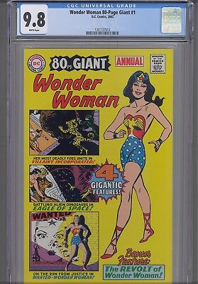 Wonder Woman 80 Page Giant #1 (Annual)  CGC 9.8 2002  DC Comic: New Frame