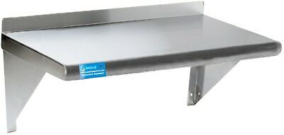 AmGood Stainless Steel Wall Mount Shelf | NSF Certified | All Sizes In Stock