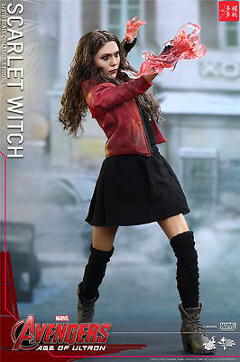 Hot Toys 1/6 MMS301 Scarlet Witch Age of Ultron Marvel's The Avenger 12'' Figure