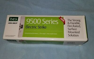 HES 9500 9500-12/24-630 Electric Strike 95630 - new Sealed , free shipping