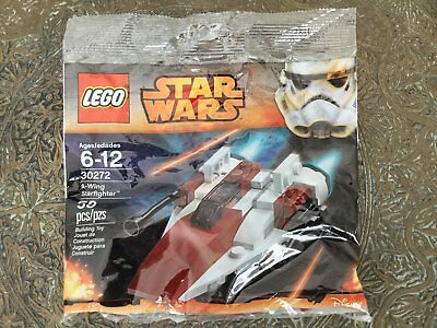 Lego Star Wars MINI A-WING STARFIGHTER (#30272) - New & Sealed Polybag