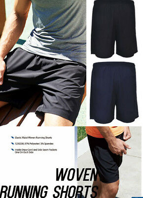 Kids boys girls Woven Running Shorts with Inside Draw Cord and Side Seam Pockets