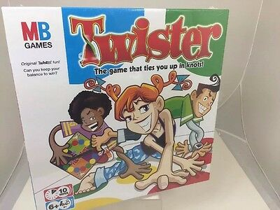 Twister MB Fun Family Party Board Game New & Sealed