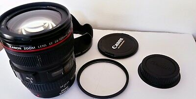 CANON ZOOM LENS  EF 24-105mm  1:4 L  IS  USM  and moore SEE