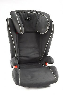 Mercedes Benz KIDFIX Child Car Seat w/ Limited Edition Black Covers ISOFIX A100