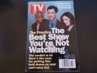 Dylan McDermott, The Practice, Seinfeld - TV Guide Magazine 1998