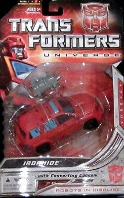 Transformers Universe Classics Deluxe Autobot Ironhide - Unopened On Card - Wow!