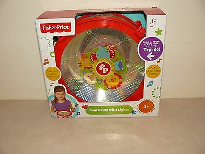 Fisher Price Mini Drum With Lights