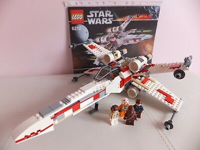 Lego X-Wing Fighter 6212. Boxed & 100% Complete. Star Wars. • £79.95 ...