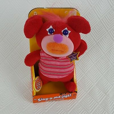 Fisher Price Sing A Ma Jigs Red Mattel Sing a Song 2010 Age 3+ New