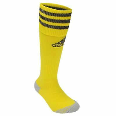 adidas Adisock Football Socks Mens Size UK 8.5 - 10 Yellow R532-32