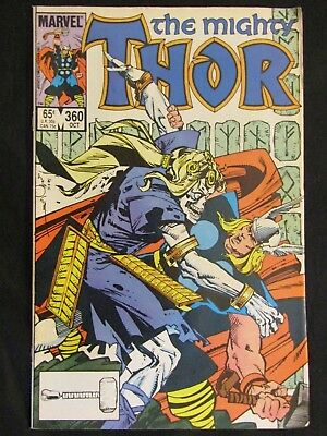 The Mighty Thor #360 Lady Sif Balder the Brave Enchantress Executioner