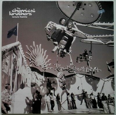 "12"" Uk**the Chemical Brothers - Leave Home (Underworld Mixes) (Virgin '95)*27840"