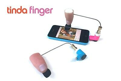 Tinda Finger - The Essential Accessory For Mobile Dating Users