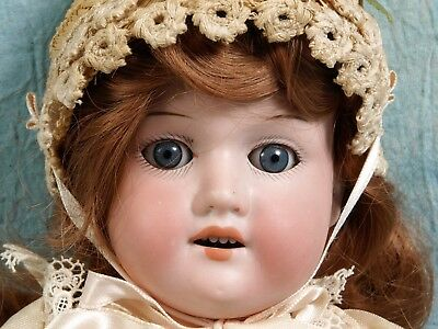 ANTIQUE ARMAND MARSEILLE Doll SLEEPY EYES Bisque Head Antique outfit