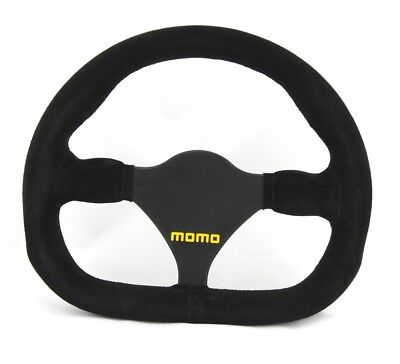 Momo Wildleder Sportlenkrad Modell MOD. 27 290mm schwarz black steering wheel vo