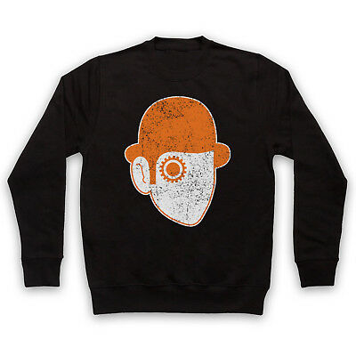 A Clockwork Orange Unofficial Droog Face Iconic Film Adults & Kids Sweatshirt
