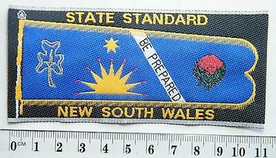 GIRL GUIDE BADGE: NSW State Commissioner's Standard Badge + info sheet