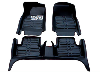 Weatherbeater Front & Rear Floor Mats BLACK fits 2013-2017 Nissan Altima