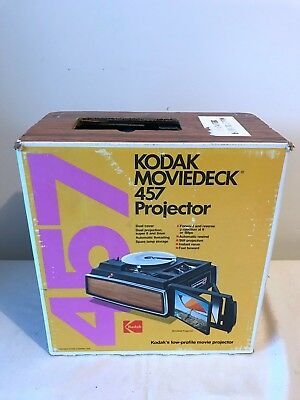 Kodak MovieDeck 457 8mm and Super 8 Projector